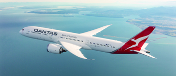QANTAS Airways non-stop Londen-Perth