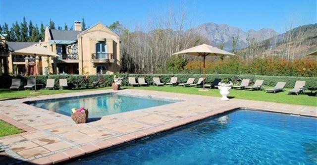 Villa Zuid Afrika : Qas holidays zuid afrika franschhoek franschhoek country
